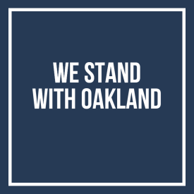 We Stand With Oakland